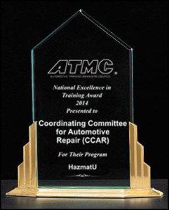 ATMC-Award_CCAR HazmatU 2014