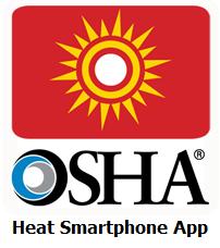 OSHA heat app
