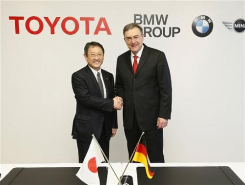 Toyota and BMW Partnership